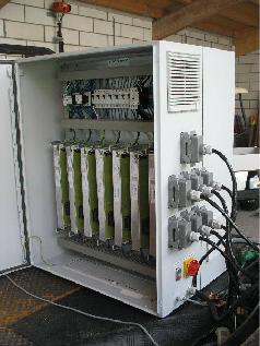 Multi-connectoren voor de lichtbakken